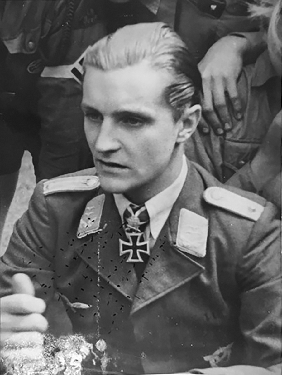 Aircrew Luftwaffe legend JG27 Hans Joachim Marseille 02