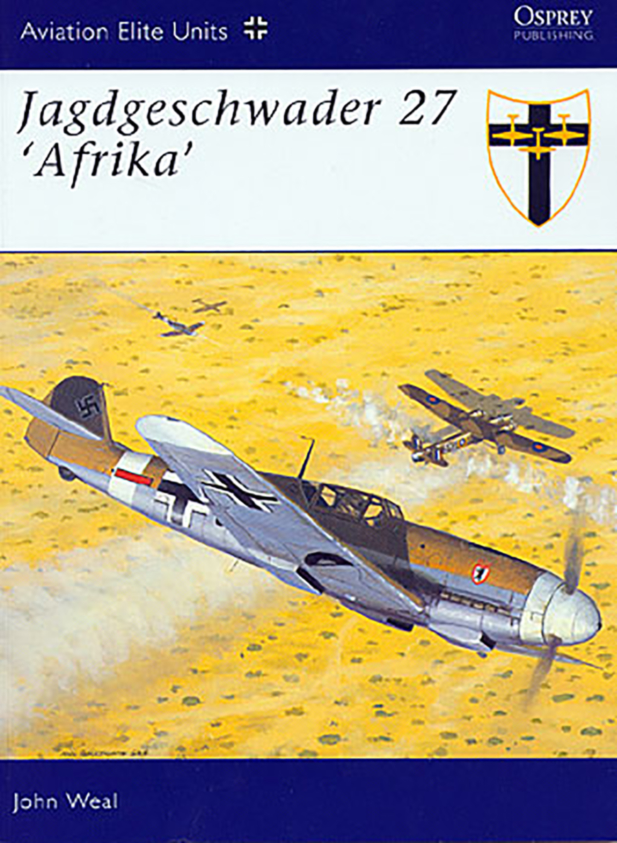 Art Ospreys Aviation Elite Units No 12 Jagdgeschwader 27 Afrika 0A