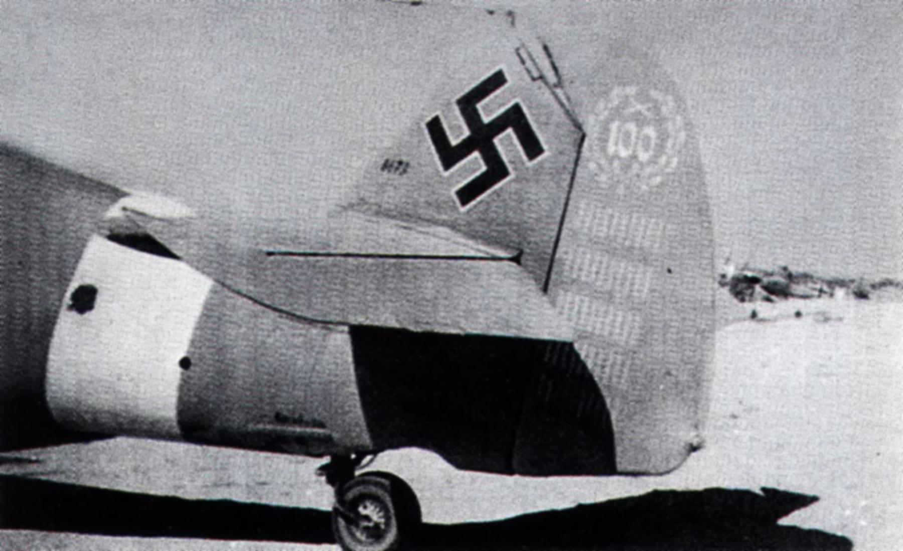 Messerschmitt Bf 109F4Trop 3.JG27 Yellow 14 Hans Joachim Marseille WNr 8673 Africa 15th Sep 1942 02
