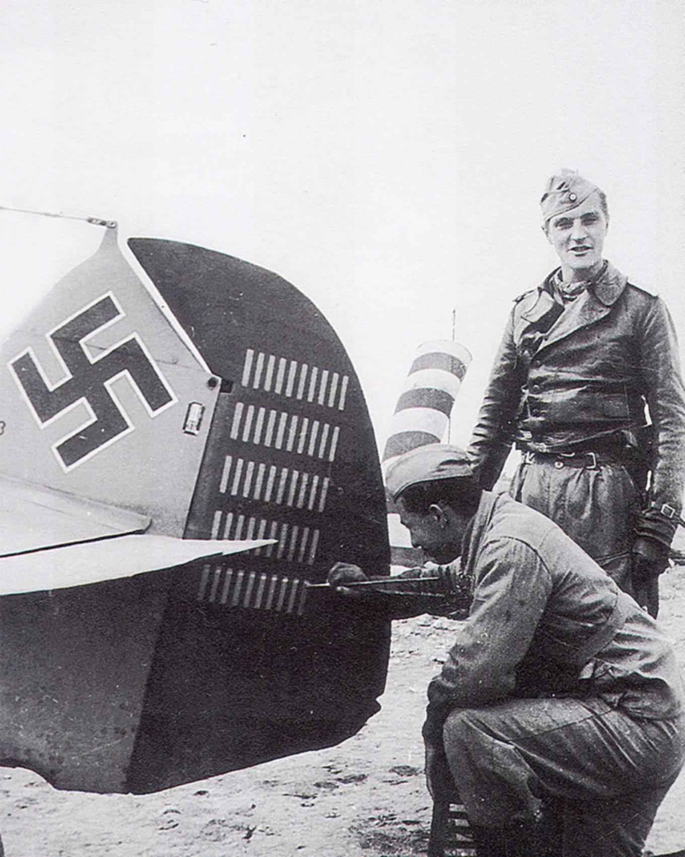 Messerschmitt Bf 109F4Trop 3.JG27 Yellow 14 Hans Joachim Marseille WNr 8693 Martuba Feb 1942 07
