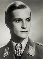 Asisbiz Aircrew Luftwaffe JG27 ace Hans Joachim Marseille black and white portrait photo 02