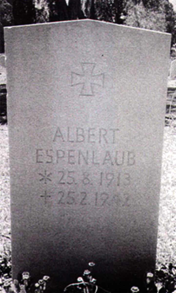 Aircrew Luftwaffe JG27 ace Albert Espenlaub 04