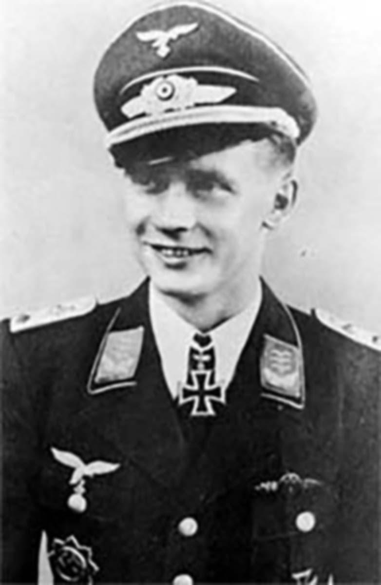 Aircrew Luftwaffe JG27 ace Ernst Boerngen 01