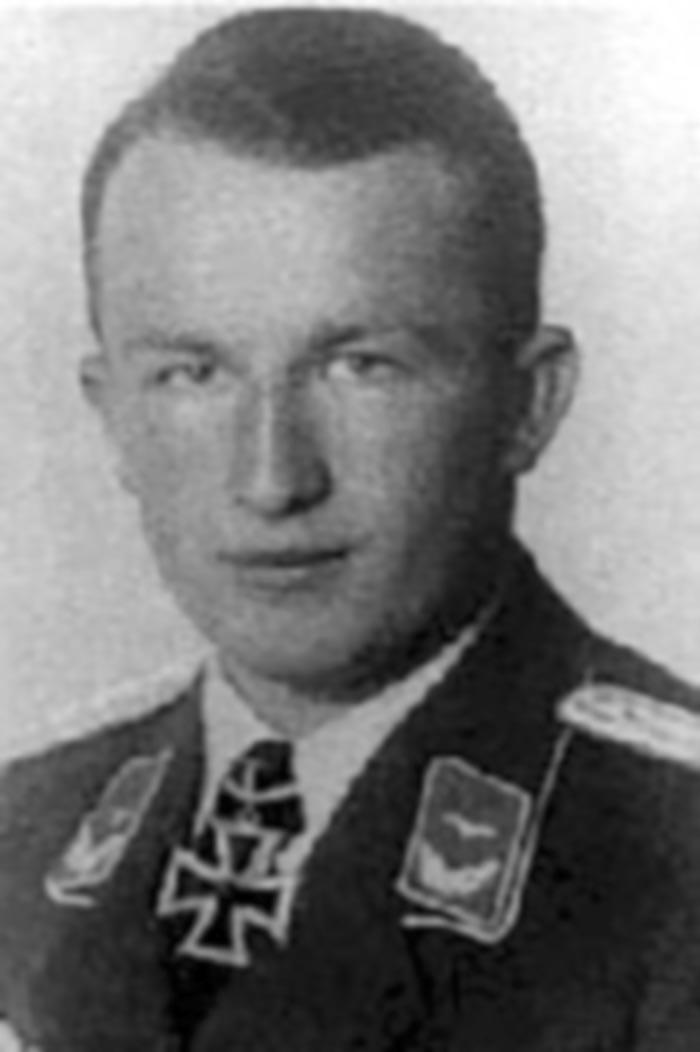 Aircrew Luftwaffe JG27 ace Hans Arnold Stahlschmidt 01