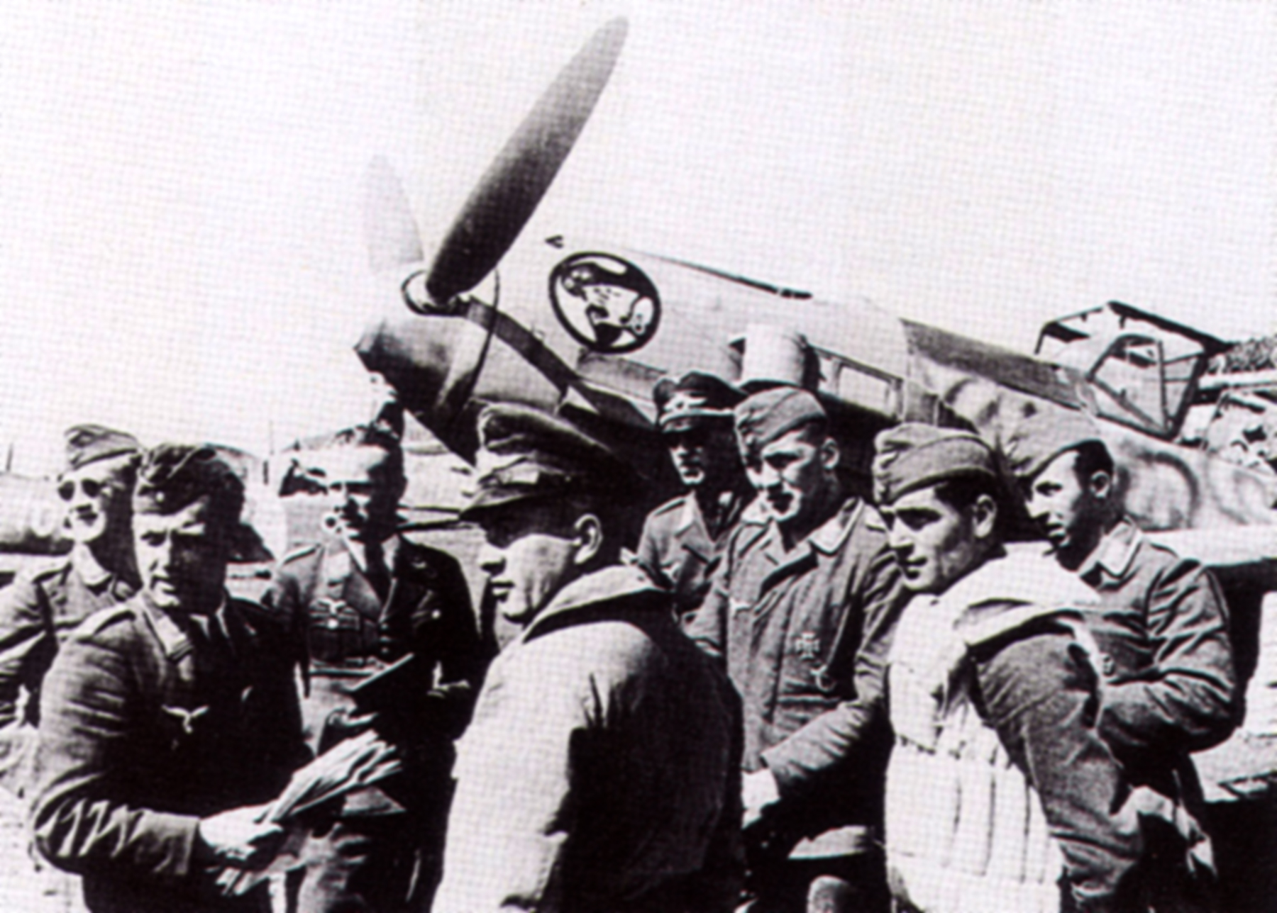 Aircrew Luftwaffe JG27 ace Werner Schroer 01