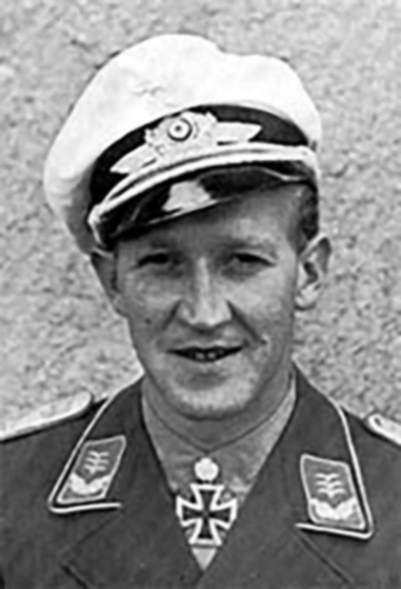 Aircrew Luftwaffe JG27 ace Werner Schroer 02