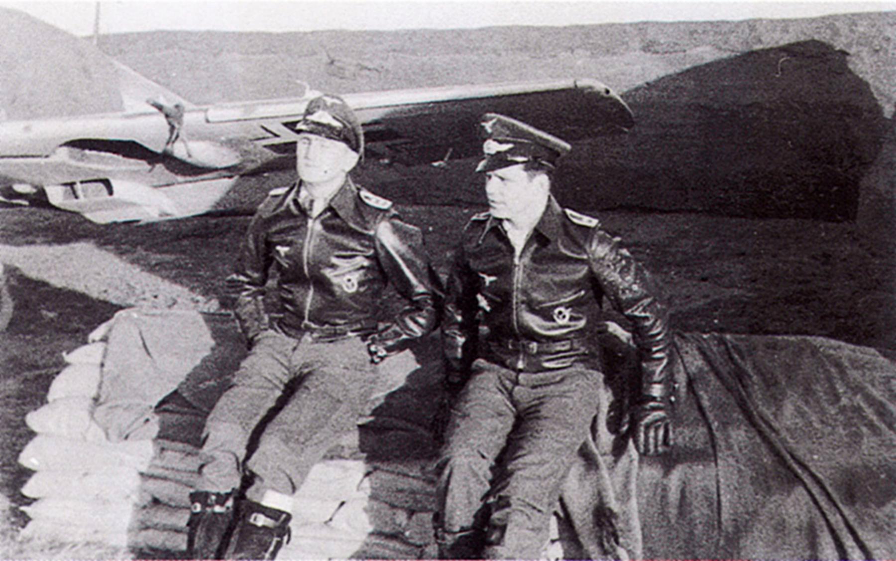 Aircrew Luftwaffe JG27 ace Werner Schroer 03