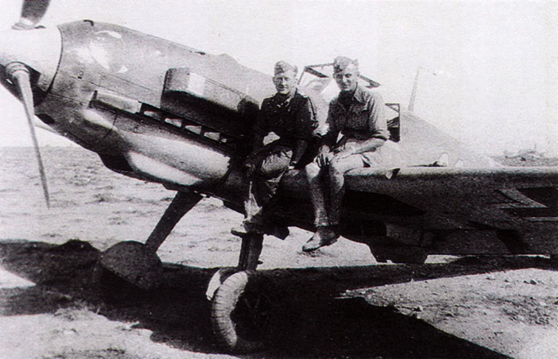 Aircrew Luftwaffe JG27 ace Werner Schroer 04