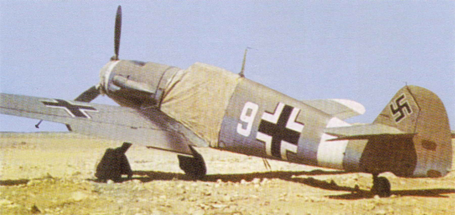 Messerschmitt Bf 109F4Trop 1.JG27 White 9 North Africa Feb 1942 01
