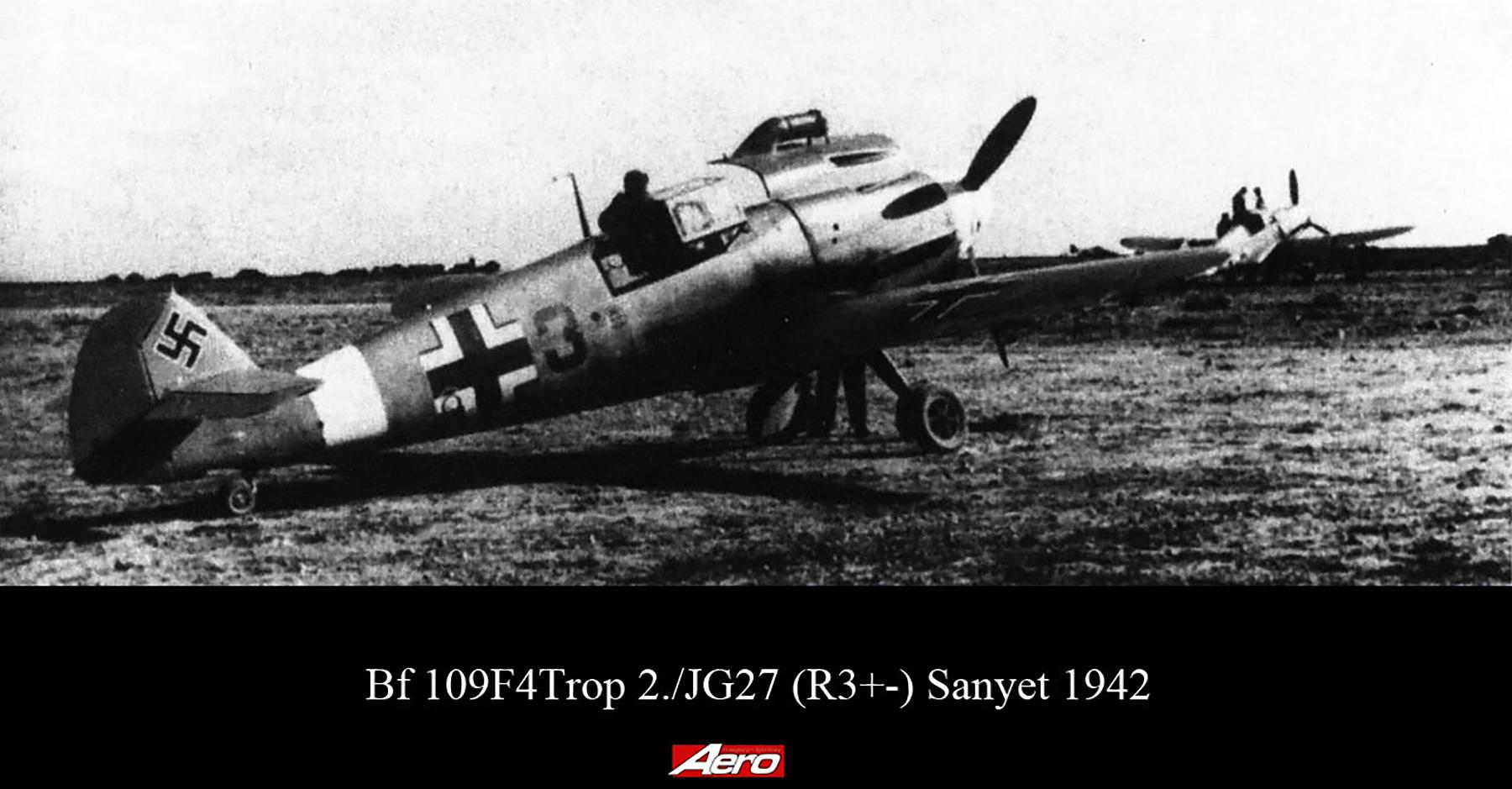 Messerschmitt Bf 109F4Trop 2.JG27 Red 3 Sanyet 1942 02