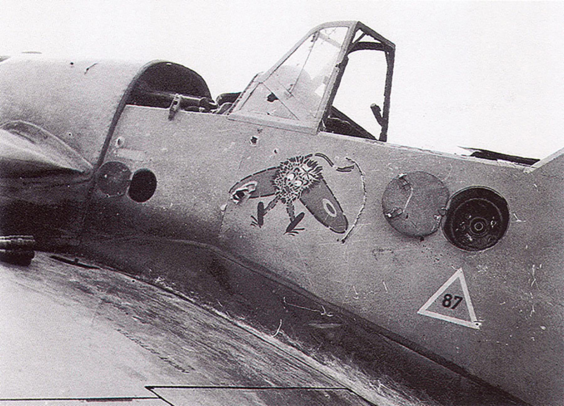 Messerschmitt Bf 109F4Trop 4.JG27 White 12 WNr 8438 El Gazala Dec 1941 02