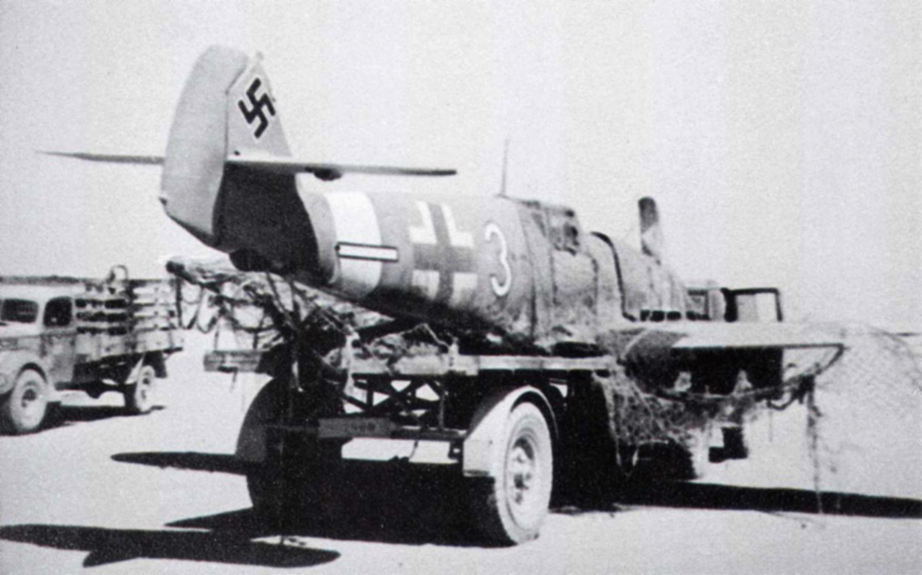 Messerschmitt Bf 109F4Trop 4.JG27 White 3 Alfred Krumlauf WNr 8635 FL 15km SW El Hammam 20th Sep 1942 02