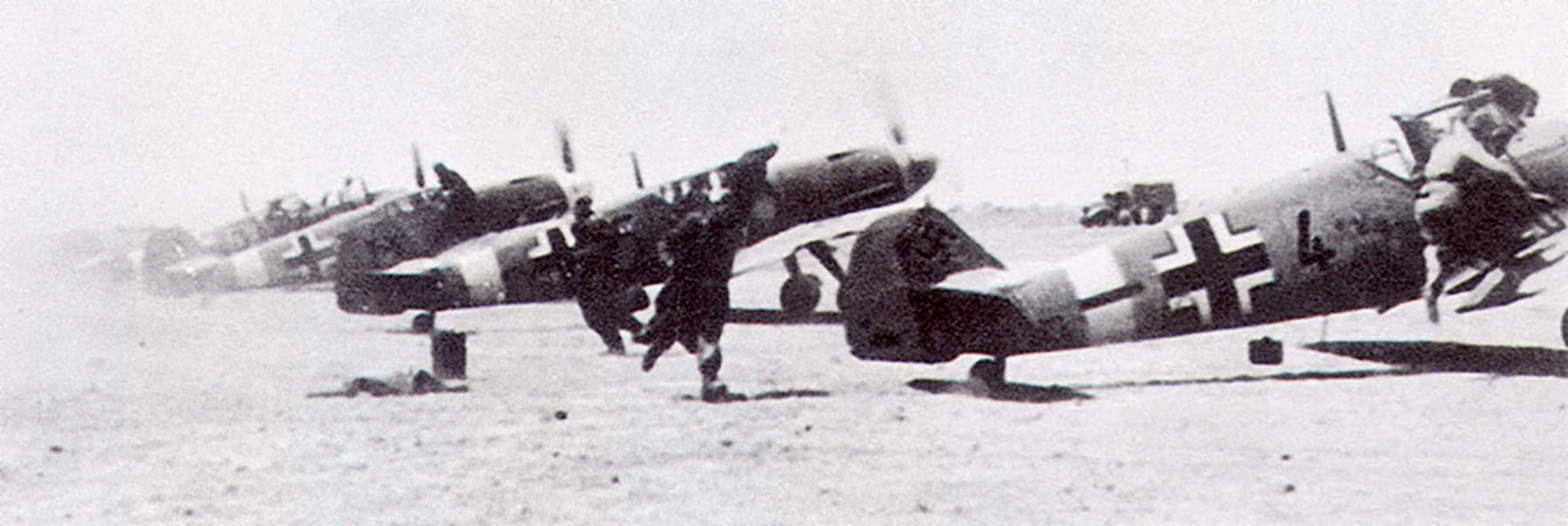 Messerschmitt Bf 109F4Trop 5.JG27 Black 4 Martuba Libya Feb 1942 02