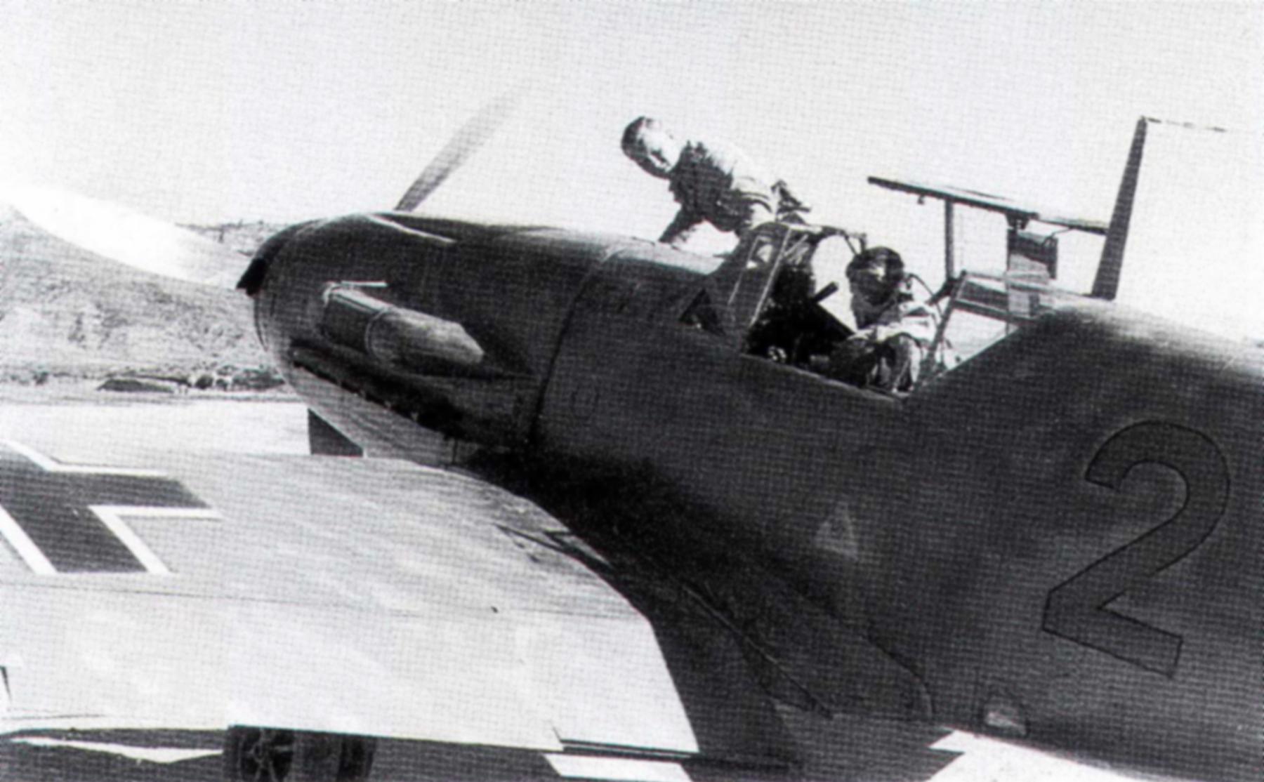 Messerschmitt Bf 109F4Trop 8.JG27 Red 2 Gadurra AF Rhodes Greece Feb 1943 01
