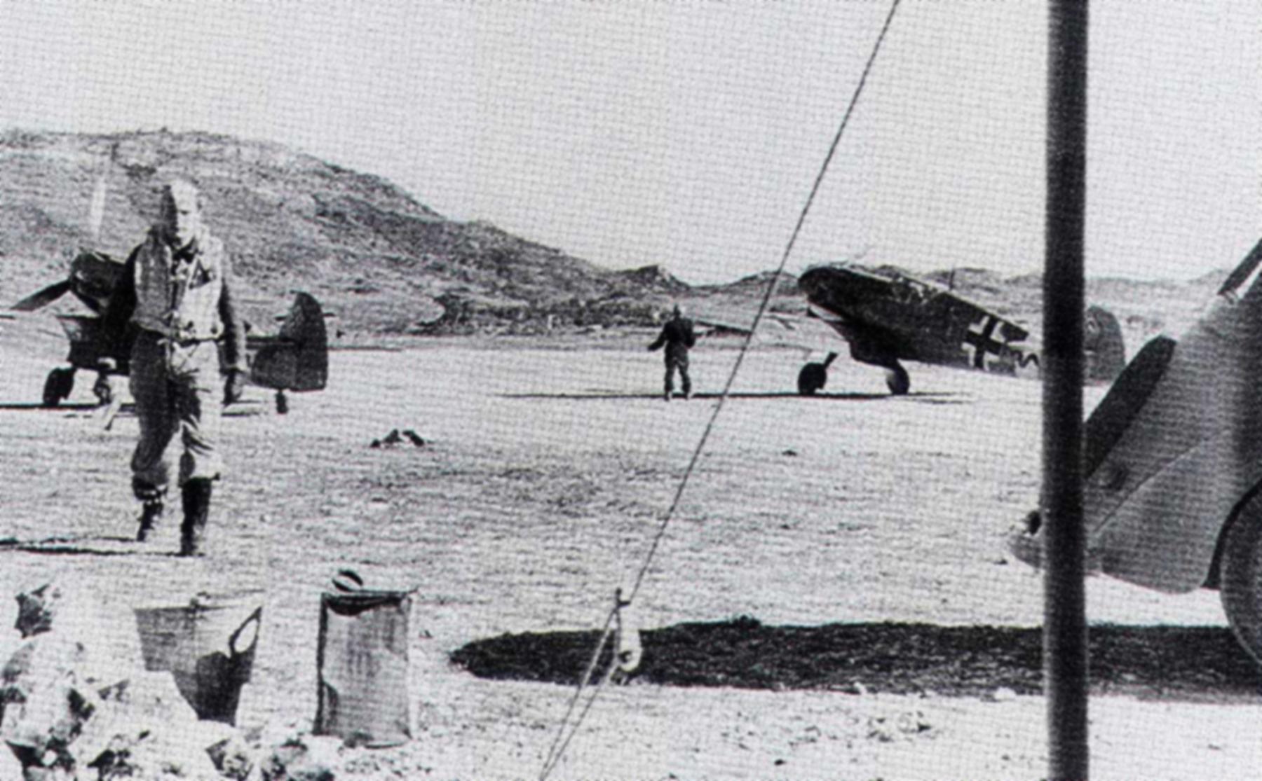 Messerschmitt Bf 109F4Trop 8.JG27 Red 6 Gadurra AF Rhodes Greece Feb 1943 01