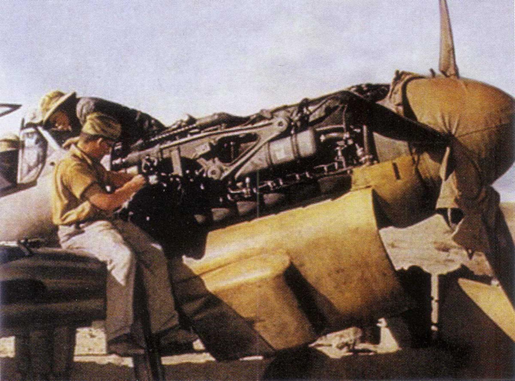 Messerschmitt Bf 109F4Trop JG27 North Africa 1942 01