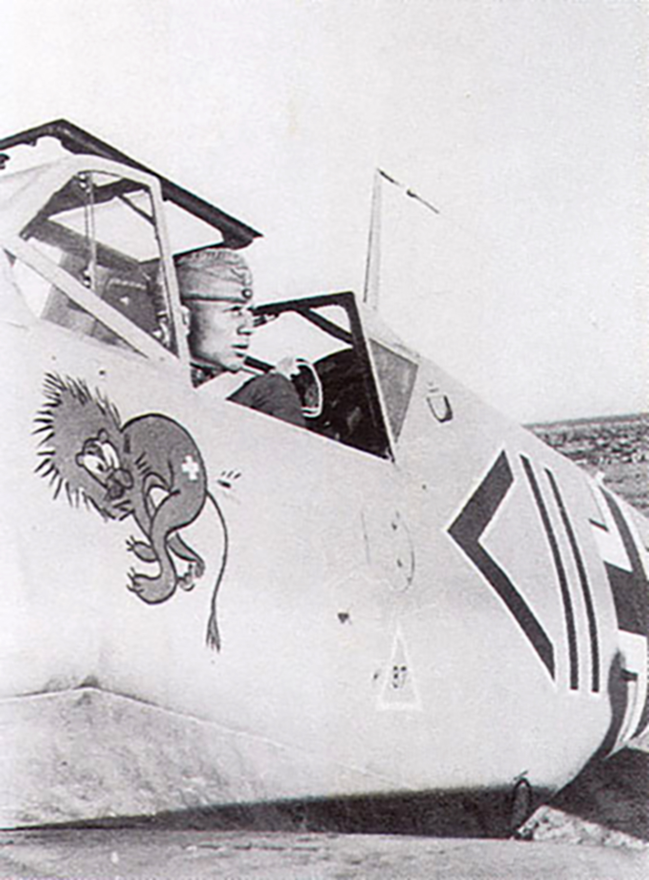 Messerschmitt Bf 109F4Trop Stab II.JG27 Otto Schulz WNr 10271 El Gazala 1941 01