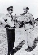 Asisbiz Aircrew Luftwaffe JG27 ace Eduard Neumann n Adolf Galland in North Africa Sep 22 1942 01
