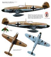 Asisbiz Messerschmitt Bf 109F4Trop 4.JG27 White 11 North Africa 1941 0A