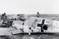 Asisbiz Messerschmitt Bf 109F4Trop 6.JG27 Yellow 4 Gromotka WNr 8548 crashed Acroma May 31 1942 01