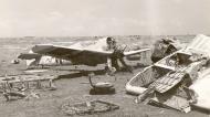 Asisbiz Messerschmitt Bf 109F4Trop 8.JG27 Black 4 abandoned airframe Derna Nov 1942 ebay1