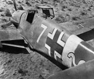Asisbiz Messerschmitt Bf 109F4Trop 9.JG27 Yellow 7 Helmuth Fenzl WNr 13136 crash Egypt 26th Oct 1942 02