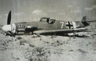 Asisbiz Messerschmitt Bf 109F4Trop 9.JG27 Yellow 7 Helmuth Fenzl WNr 13136 crash Egypt 26th Oct 1942 ebay1