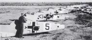 Asisbiz Messerschmitt Bf 109F4Trop abandoned airframes mostly from JG27 Gambut Libya 1942 01