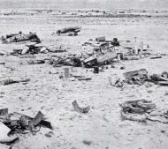 Asisbiz Messerschmitt Bf 109F4Trop abandoned airframes mostly from JG27 Gambut Libya 1942 05