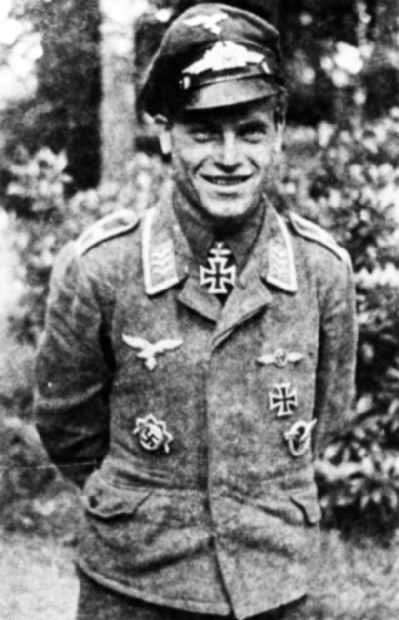 Aircrew Luftwaffe JG5 ace Rudolf Muller 01