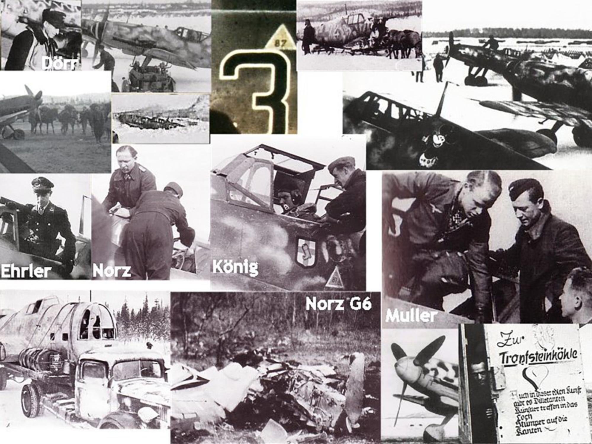 Aircrew Luftwaffe pilots JG5 Winter