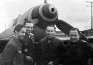 Asisbiz Aircrew Luftwaffe JG5 aces Schuck+Dorr+Heinrich Ehrler+Norz 01