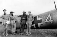 Asisbiz Messerschmitt Bf 1094F4Trop 9.JG53 (Y4+I) Haggag el Quasaba airfield summer 1942 01