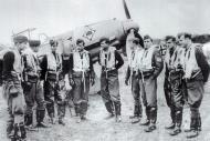 Asisbiz Aircrew Luftwaffe JG53 pilots Maltzahn,Wilcke,Kurt Brundle,Heinz Bretnutz,Stefan Utjens,Franz Gatz France 01
