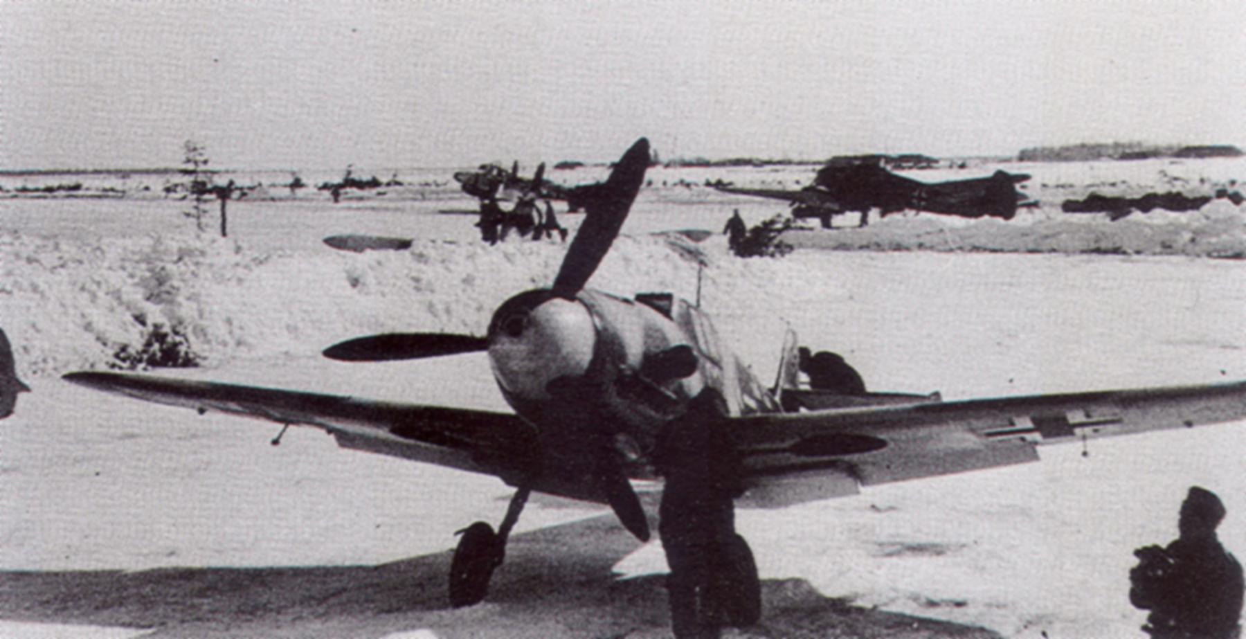 Messerschmitt Bf 109F4 JG54 Siverskaya Russia 1941 42 02