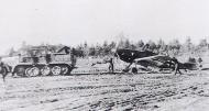 Asisbiz Messerschmitt Bf 109F JG54 being towed by a SdKfz 7 half track Russia 1941 01