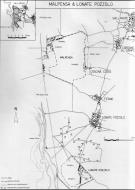 Asisbiz Artwork showing a map of Pozzolo WWII Airfield 0A