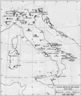 Asisbiz Artwork showing a map of major Italian Airfields and bases 1943 1944 0A