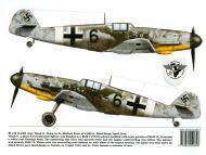 Asisbiz Messerschmitt Bf 109G2R2Trop 2.(H)14 Red 6 Herbert Prior WNr 10544 Qued Zarga Tunisia Apr 1943 0A