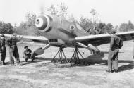 Asisbiz Messerschmitt Bf 109G10 Erla ANR 1Gr3Sqa 3 5 Cesare Marchesi WNr 491407 Italy 14th Mar 1945 04