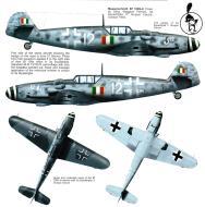 Asisbiz Messerschmitt Bf 109G6 ANR 2Gr3Sqn White 12 Maggiori Ferraro Italy 1944 0A
