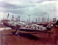 Asisbiz Messerschmitt Bf 109G10 Erla captured USAAF T2 123 ex Luftwaffe Black 7 Freeman Field 17th May 1946 02