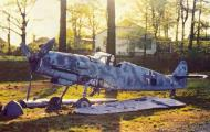 Asisbiz Messerschmitt Bf 109G10U4 Erla captured USAAF T2 124 ex Luftwaffe 5.JG52 Black 2 WNr 610824 01
