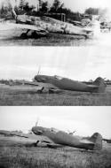 Asisbiz Messerschmitt Bf 109G14 Erla captured USAAF ex Luftwaffe Yellow 12 1945 01