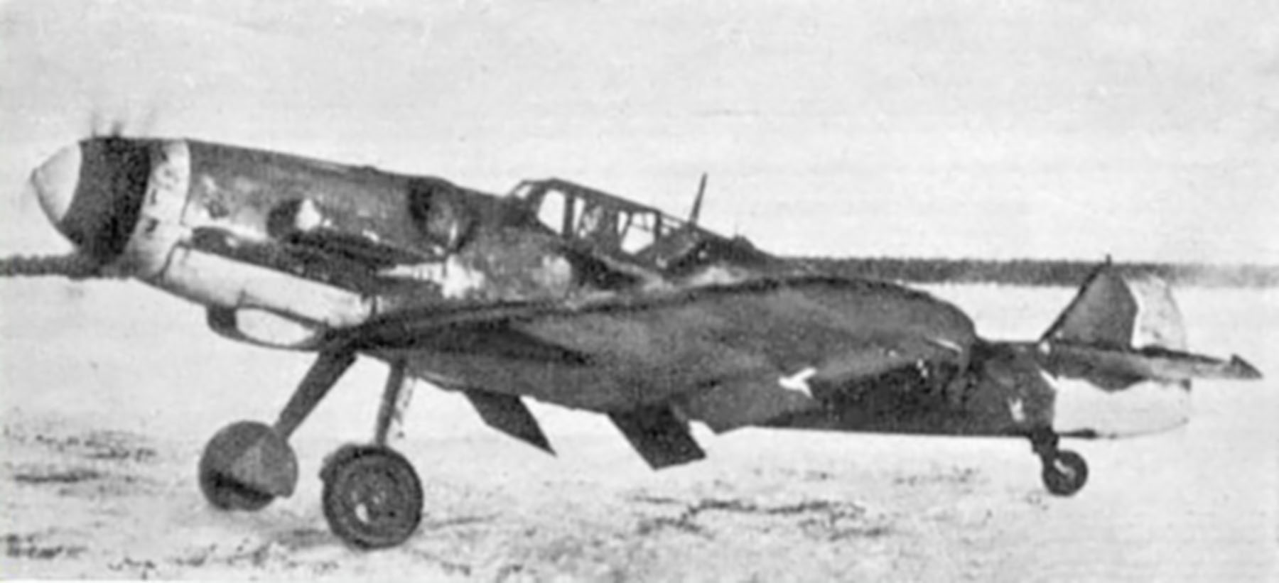 Messerschmitt Bf 109G6Trop FAF unknown unit and pilot Finland 1944 01