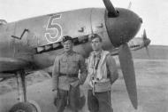 Asisbiz Messerschmitt Bf 109G2 FAF 1.HLeLv34 MT215 WNr 14783 Finland 1943 01