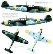 Asisbiz Messerschmitt Bf 109G2 FAF 2.HLeLv24 MT213 Riihikailio Finland 1943 0A