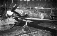 Asisbiz Messerschmitt Bf 109G2 FAF 2.HLeLv34 MT207 WNr 14741 Finland 1943 06