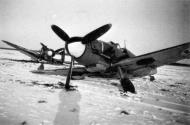 Asisbiz Messerschmitt Bf 109G2 FAF 2.HLeLv34 MT207 WNr 14741 ground collision Finland 1943 09