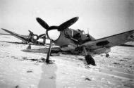 Asisbiz Messerschmitt Bf 109G2 FAF HLeLv MT210 ground collision Finland 1943 04